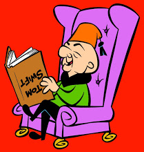 MR MAGOO READING COLOR CROP