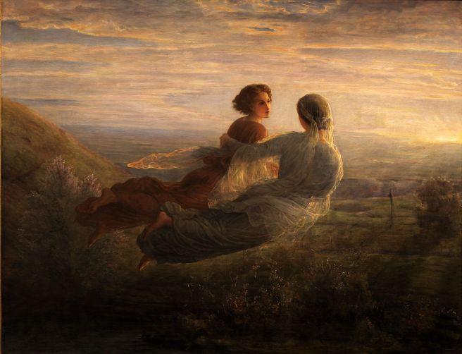 Poem of the Soul - The flight of the soul. Courtesy of Musée des beaux-arts de Lyon - Public Domain