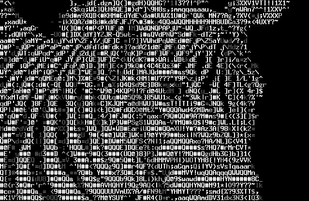 BB-ASCII-art-screenshot-zebra