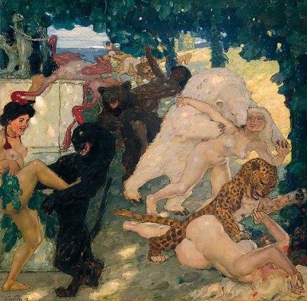 Leo_Putz_-_Bacchanale,_1905